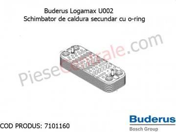 Poza Schimbator secundar centrala termica Buderus Logamax U002
