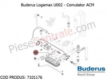 Poza Comutator ACM centrala termica Buderus Logamax U002