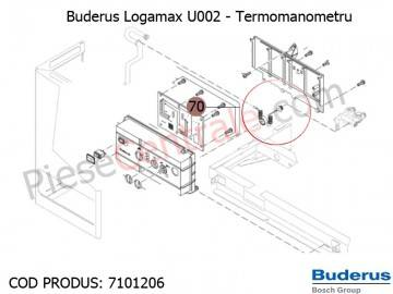 Poza Termomanometru centrala termica Buderus Logamax U002
