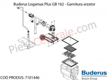 Poza Garnitura arzator centrala termica Buderus Logamax Plus GB 162