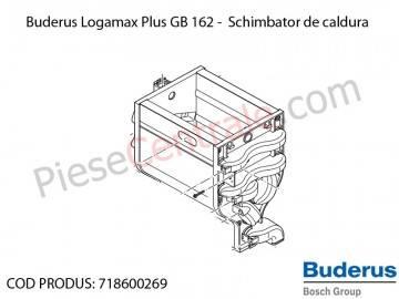Poza Schimbator de caldura centrala termica Buderus Logamax Plus GB 162, Bosch Condens 5000W