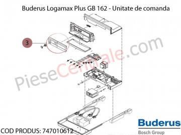 Poza Unitate de comanda centrala termica Buderus Logamax Plus GB 162