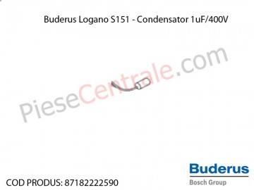 Poza Condensator 1uF/400V centrala termica Buderus Logano S 151