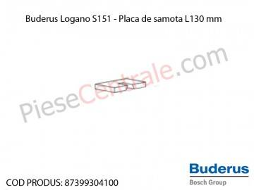 Poza  Placa de samota L130 mm centrala termica Buderus Logano S 151