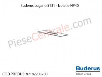 Poza Izolatie NP 40 centrala termica Buderus Logano S 151