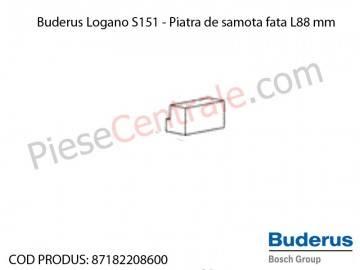 Poza Piatra de samota fata L88 mm centrala termica Buderus Logano S 151
