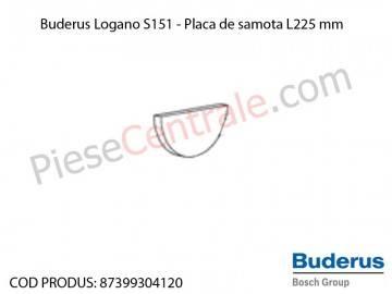 Poza Piatra de samota D392 mm centrala termica Buderus Logano S 151