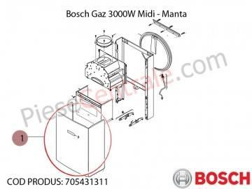 Poza Manta centrala termica Bosch Gaz 3000W Midi
