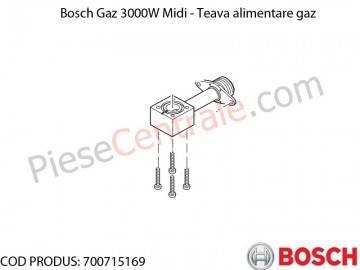 Poza Teava alimentare gaz centrala termica Bosch Gaz 3000W Midi