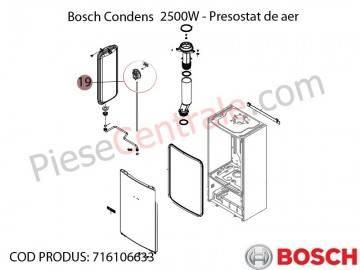 Poza Presostat de aer Bosch Condens 2500W