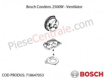 Poza  Ventilator centrala termica Bosch Condens 2500W