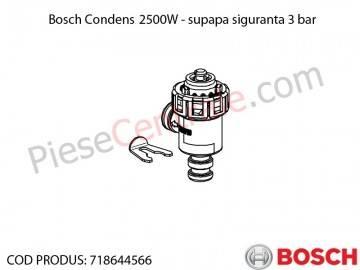 Poza Supapa siguranta 3 bar centrala termica Bosch Condens 2500W