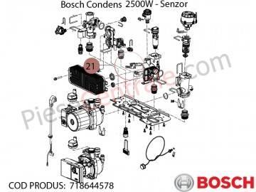 Poza Senzor centrala termica Bosch Condens 2500W