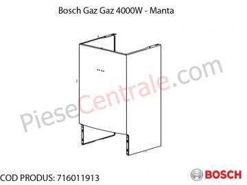 Poza Manta centrala termica Bosch Gaz 4000W