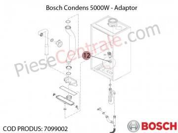 Poza Adaptor centrala termica Bosch Condens 5000W
